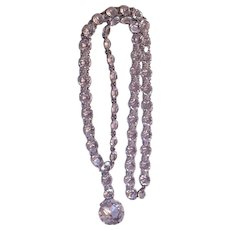 Art Deco Era Rhinestone Necklace
