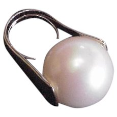 Avant Garde Huge Faux Pearl Ring