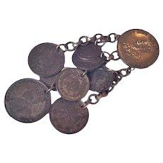 Old Coins Fur Clip