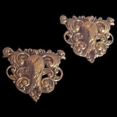 Victorian Revival Dress Clips