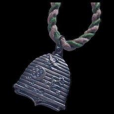 Oddfellows Medal on Original Cord