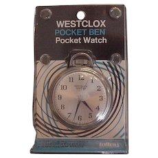 Westclox Pocket Watch New in Package