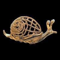 Hobe Snail Pin
