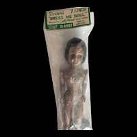 Vintage African American Dress Me Doll Original Packaging