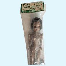 Vintage African American Dress Me Doll Original Packaging