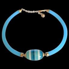 Mid Century Lucite Necklace