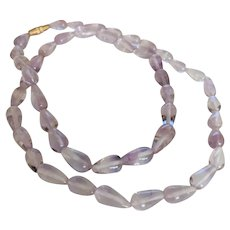 Artisan Single Strand Cut Polished Amethyst Beads