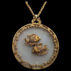 Huge Medallion Pieces Pendant Necklace
