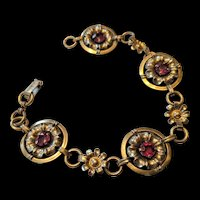 Transitional  Art Deco   Retro Modern  Bracelet