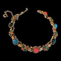 Victorian Revival Faux Slide Bracelet