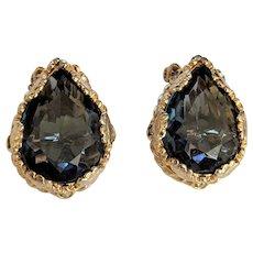 Vintage Alice Caviness Blue Earrings