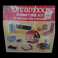 Vintage Craft House Doll House Furniture Set NIB