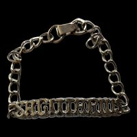 Vintage Sagittarius Bracelet