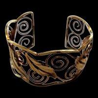 Wide Krementz Bracelet