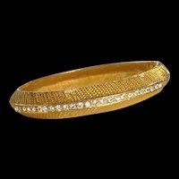 Rhinestone Bangle Bracelet