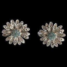 Sterling Marcasite Earrings