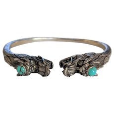 Double Dragon Forearm Bracelet