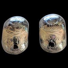 Sterling Silver Clip Back Earrings