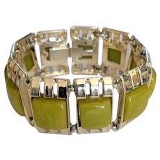 Olivine Squares Bracelet