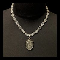 Rutilated Rock Quartz Necklace
