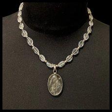 Rutilated Rock Quartz Necklace