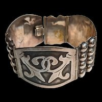 Mexico Sterling Mid Century Bracelet