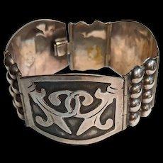 Mexico Sterling Mid Century Bracelet