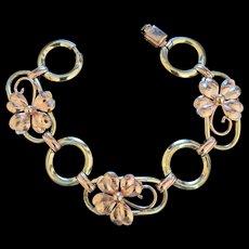 Krementz Diana Line Gold Overlay Bracelet
