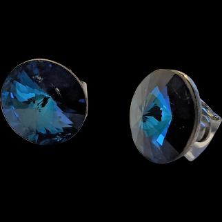 Weiss Royal Blue Earrings