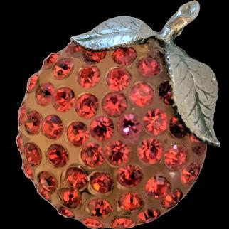 Forbidden Fruit Orange Pin