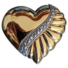 Large  Heart Pin