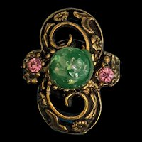 Victorian Revival Costume Ring