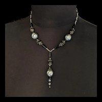 Artisan Art Deco Beads Re-designed Necklace