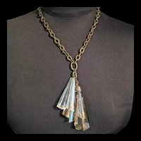 Large Glass Drops Necklace