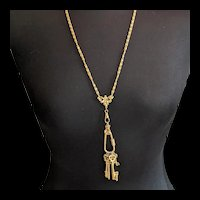 Victorian Revival Chatelaine Necklace by ART