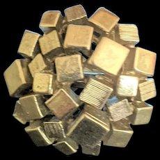 Silver Color Brutalist Ring