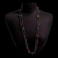 Genuine 1970's Glass Love Beads