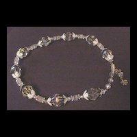 Vintage Vendome Floral Choker Necklace