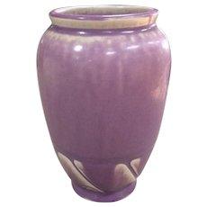 Lovely Vintage Rookwood Art Pottery Cabinet Vase Rare Lilac Color