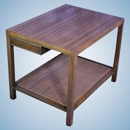 Harvey Probber Mid Century Modern End Table Coffee Nightstand Tray Cart Eames