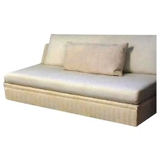 Stunning Modern Designer Armless Sofa Settee Couch Loveseat Armchair Bed Chaise