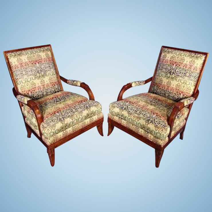 Hickory Chair Lounge Club Chairs Armchairs Settee Chaise Sofa Loveseat Treasure Island Interiors Llc Ruby Lane