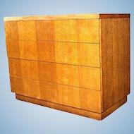 1950 Modern Oak Dresser Chest Cabinet Buffet Credenza Sideboard Sofa Mid Century