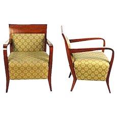 Modern Birch Walnut Lounge Club Chairs Armchairs Settee Chaise Sofa Loveseat