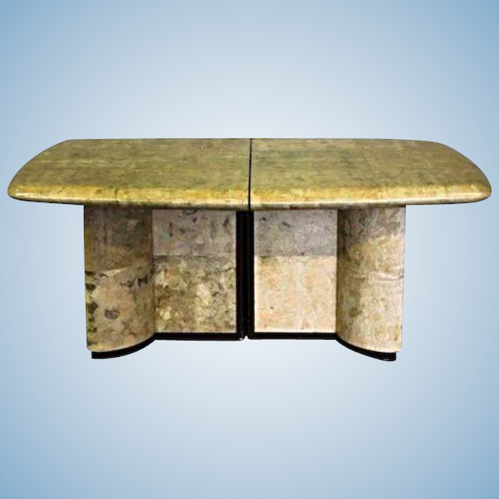 Karl Springer Dining Table Parchment Conference Mid Century Modern Art Treasure Island Interiors Llc Ruby Lane