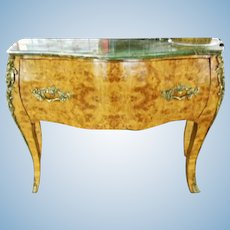 Louis XV Bombe Server Commode Chest Console End Side Table Sideboard Buffet