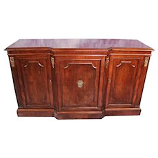Gorgeous Large Federal Style Mahogany Credenza Sideboard Buffet Chest Vintage