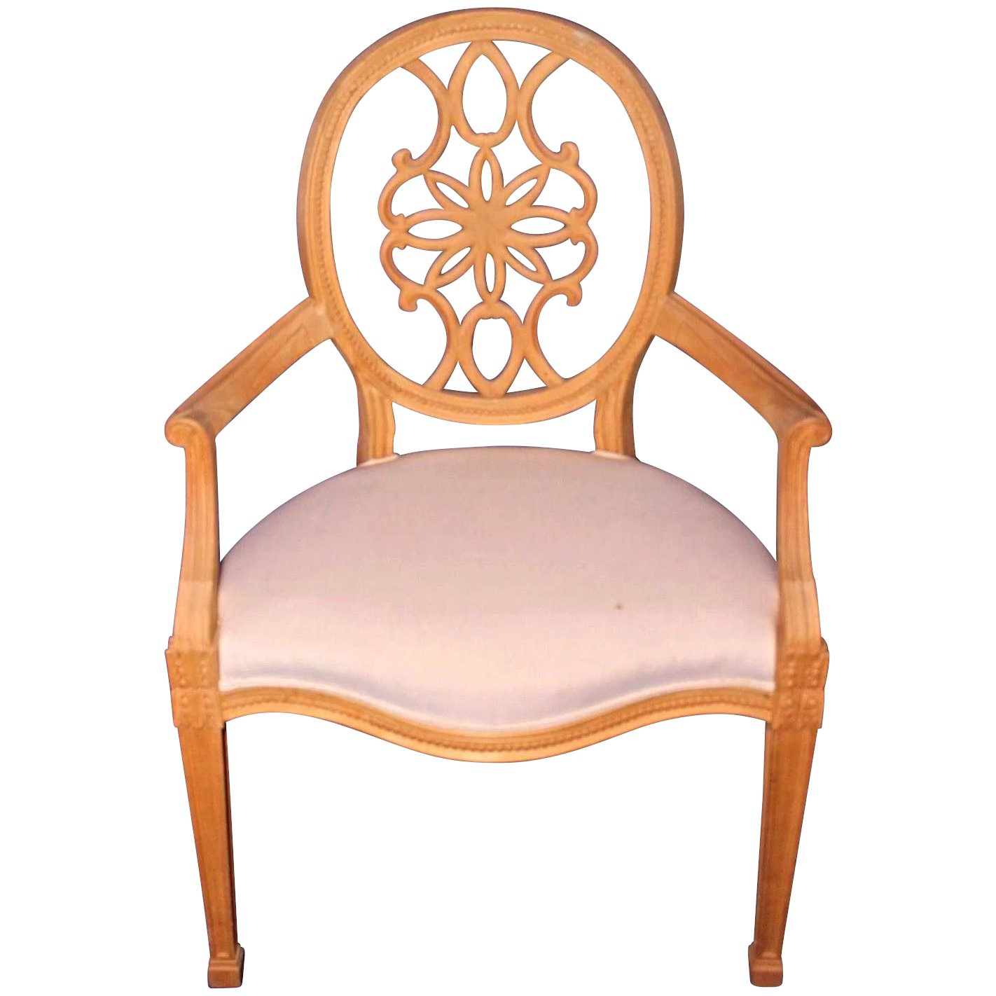 Groovy George Iii Style Carved Wood Armchair Chair Accent Dining Side Antique Vintage Ncnpc Chair Design For Home Ncnpcorg