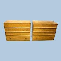 2 Robsjohn Gibbings Widdicomb Dressers Credenza Chest Cabinet Mid Century Modern