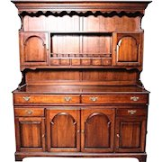 Pennsylvania House Early American Cherry Hutch Buffet China Cabinet Cupboard